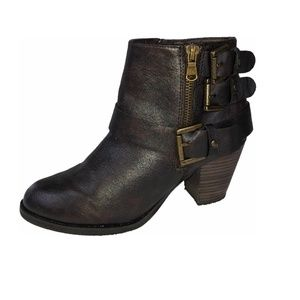 "STEVE MADDEN ""Preslee"" brown bootie - almost new!"